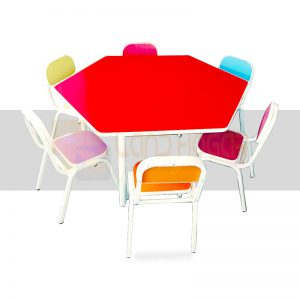 mesa hexagonal inicial